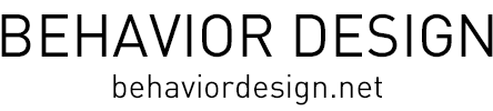 behaviordesign ビヘイビアデザイン