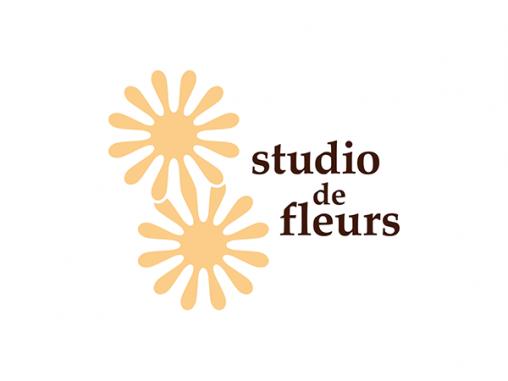 studio de fleurs ロゴマーク