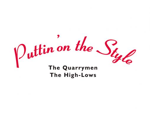 ザ・クオリーメン/ザ・ハイロウズ 「Puttin' on the Style」 ツアーロゴマーク