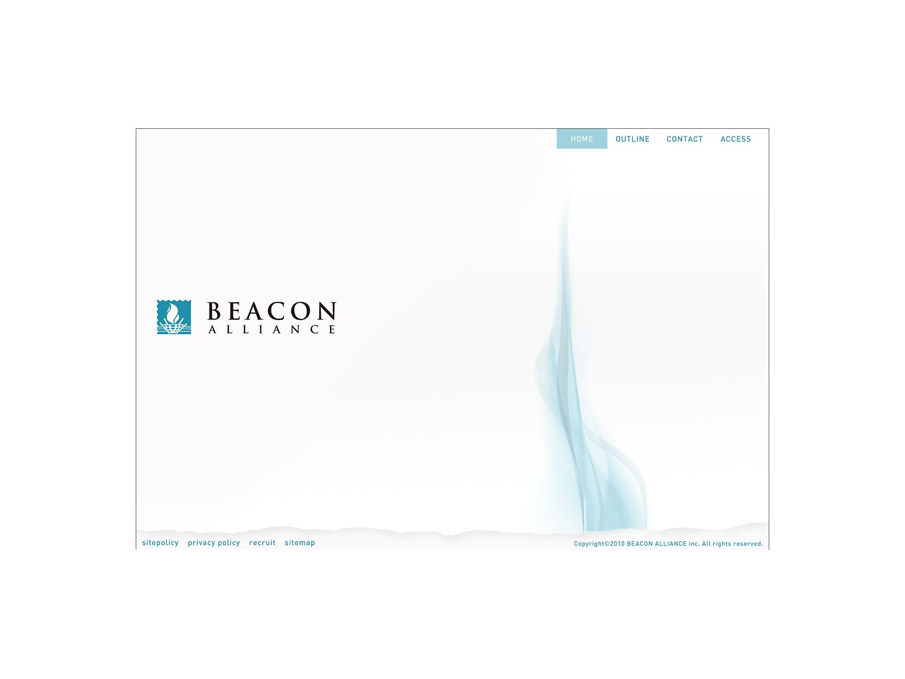 株式会社BEACON ALLIANCE WEBサイト
